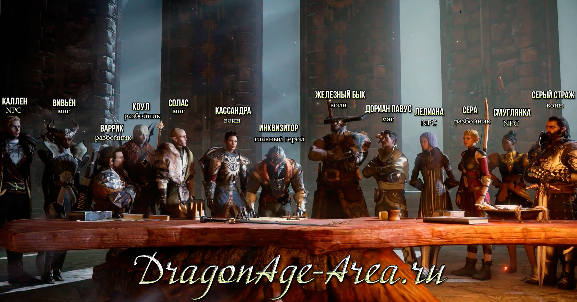 Dragon age inquisition классы